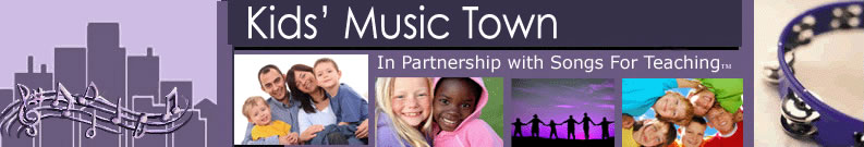 Kids' Music Town: Children's Songs and Lyrics